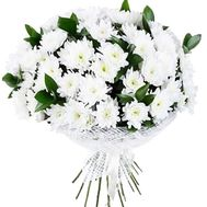 Bouquet of white chrysanthemum - flowers and bouquets on df.ua