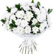 Букет из белой хризантемы - цветы и букеты на df.ua