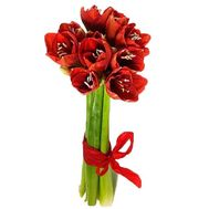A bouquet of exotic flowers Amaryllis - flowers and bouquets on df.ua