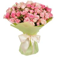 Bouquet of short bush roses - flowers and bouquets on df.ua
