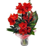 Bouquet of red flowers - flowers and bouquets on df.ua
