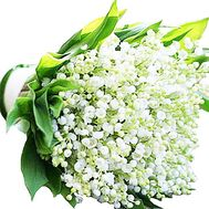 Bouquet of lilies of the valley to buy - flowers and bouquets on df.ua