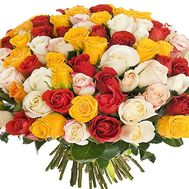Bouquet of chic roses - flowers and bouquets on df.ua