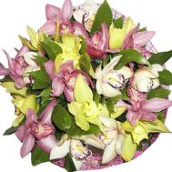 Bouquet of orchids to buy - flowers and bouquets on df.ua