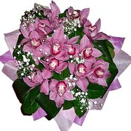 Bouquet of pink orchids - flowers and bouquets on df.ua