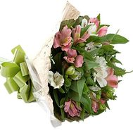 Bouquet with alstroemeria - flowers and bouquets on df.ua