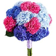 Bouquet with hydrangea - flowers and bouquets on df.ua