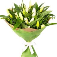 Bouquet with lilies - flowers and bouquets on df.ua