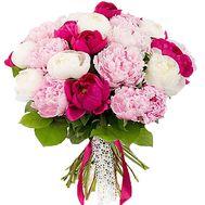 Букет с пионов - цветы и букеты на df.ua