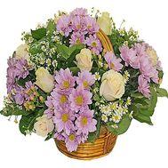 Букет в корзине - цветы и букеты на df.ua