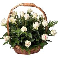 Bouquet in the basket to buy - flowers and bouquets on df.ua