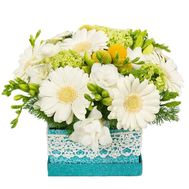 Bouquet in a square box - flowers and bouquets on df.ua