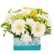 Букет в квадратній коробці - цветы и букеты на df.ua