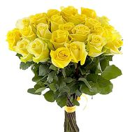 """23 yellow roses"" in the online flower shop df.ua"