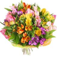 Alstroemeria flowers in bouquet - flowers and bouquets on df.ua