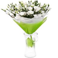 Eustoma in bouquet - flowers and bouquets on df.ua