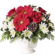 Композиция на рождество - цветы и букеты на df.ua