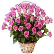 Flower basket for wife - flowers and bouquets on df.ua