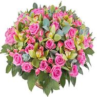 Flower basket VIP - flowers and bouquets on df.ua