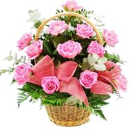 Basket of Roses - flowers and bouquets on df.ua