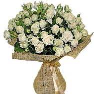 Cream bush roses - flowers and bouquets on df.ua