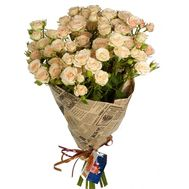 Large bush roses - flowers and bouquets on df.ua