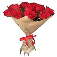 Large red roses - flowers and bouquets on df.ua