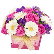 Купить цветы в коробке - цветы и букеты на df.ua