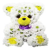 Bear of flowers - flowers and bouquets on df.ua