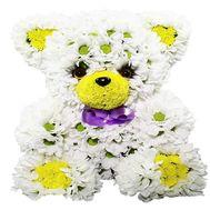 Мишка из цветов - цветы и букеты на df.ua