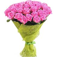 """""""Delicate pink roses"""" in the online flower shop df.ua"""