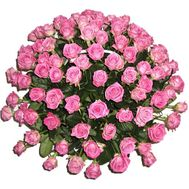 Huge Basket 101 Pink Rose - flowers and bouquets on df.ua