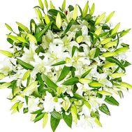 A huge bouquet of lilies - flowers and bouquets on df.ua