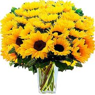 A huge bouquet of sunflowers - flowers and bouquets on df.ua