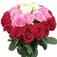 """Original rose bouquet for birthday"" in the online flower shop df.ua"