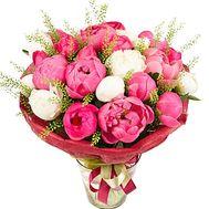 Пионы с доставкой - цветы и букеты на df.ua
