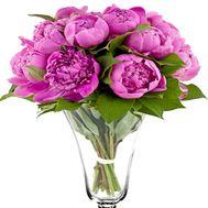 Пионы в букете - цветы и букеты на df.ua