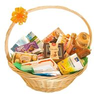Grocery basket for a gift - flowers and bouquets on df.ua