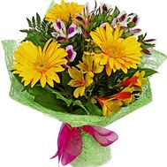 Simple bouquet of flowers - flowers and bouquets on df.ua
