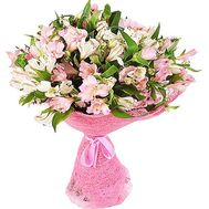 Pink alstroemerias in bouquet - flowers and bouquets on df.ua