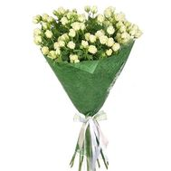 """Bouquet of white small spray roses"" in the online flower shop df.ua"