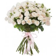 Bouquet of cream spray roses - flowers and bouquets on df.ua