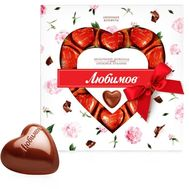 """Candy Lyubimov Hearts in milk chocolate"" in the online flower shop df.ua"