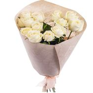 13 white roses - flowers and bouquets on df.ua