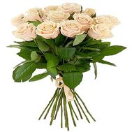 """15 Cream Roses"" in the online flower shop df.ua"