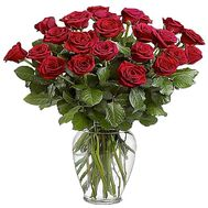 21 red roses - flowers and bouquets on df.ua