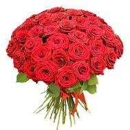 """51 red rose"" in the online flower shop df.ua"
