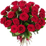 25 red roses - flowers and bouquets on df.ua
