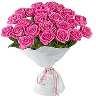"""25 pink roses"" in the online flower shop df.ua"