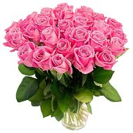 """29 pink roses"" in the online flower shop df.ua"